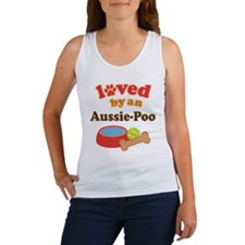 Loved By An Ausie-poo Women's Tank Top
