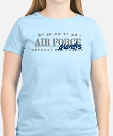 Proud Air Force Grandpa (Blue) T-Shirt