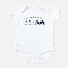 Proud Air Force Grandpa (Blue) Infant Bodysuit