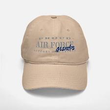 Proud Air Force Grandpa (Blue) Baseball Baseball Cap