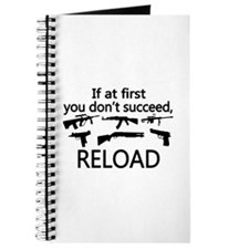 If You Don't Succeed Then Reload Journal