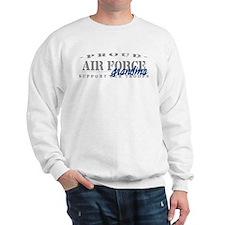 Proud Air Force Grandma (Blue) Sweatshirt