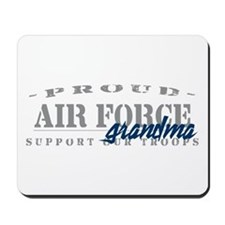 Proud Air Force Grandma (Blue) Mousepad
