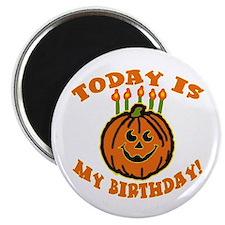 "My Halloween Birthday 2.25"" Magnet (10 pack)"