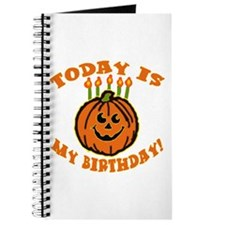 My Halloween Birthday Journal