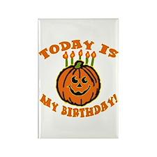 My Halloween Birthday Rectangle Magnet
