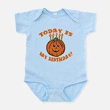 My Halloween Birthday Infant Bodysuit