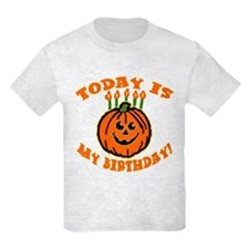 My Halloween Birthday T-Shirt
