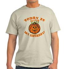 My Halloween Birthday T-Shirt