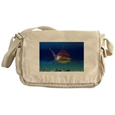 Shark Encounter Messenger Bag