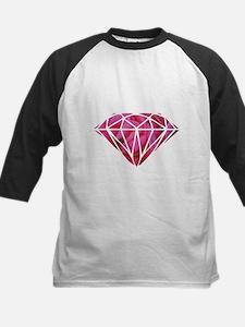 Pink Roses Baseball Jersey