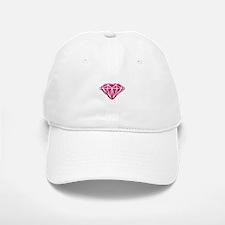 Pink Roses Baseball Baseball Cap