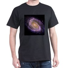 Violet Spiral Galaxy T-Shirt