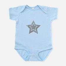Cowboy star Body Suit