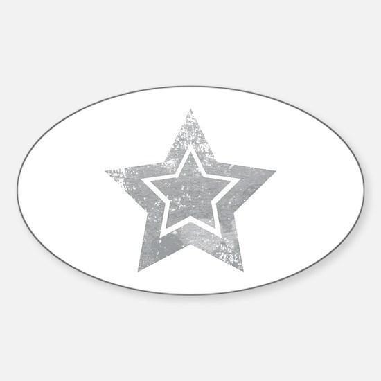 Cowboy star Decal