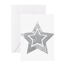 Cowboy star Greeting Cards
