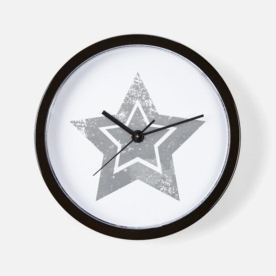 Cowboy star Wall Clock