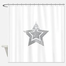 Cowboy star Shower Curtain