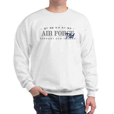 Proud Air Force Dad (Blue) Sweatshirt