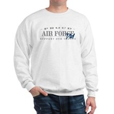 Proud Air Force Dad (Blue) Sweatshirt