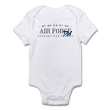 Proud Air Force Dad (Blue) Infant Bodysuit