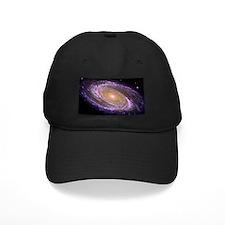 Violet Spiral Galaxy Baseball Hat