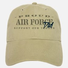 Proud Air Force Dad (Blue) Baseball Baseball Cap