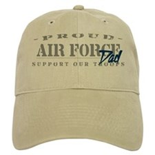 Proud Air Force Dad (Blue) Baseball Cap