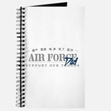Proud Air Force Dad (Blue) Journal