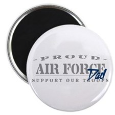 Proud Air Force Dad (Blue) Magnet