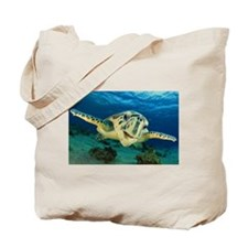 Sea Turtle Soar Tote Bag
