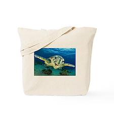Sea Turtle Soar Tote Bag