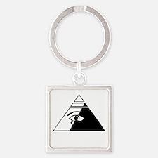 Eye of the pyramid Keychains