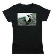 Spy Hopping Orca Whale Girl's Tee