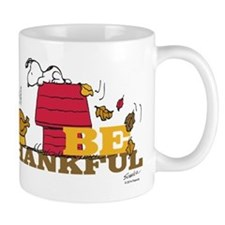 Snoopy: Be Thankful Mug