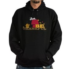 Snoopy: Be Thankful Hoodie (dark)