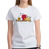 Snoopy thanksgiving Women's T-Shirt