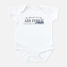 Proud Air Force Cousin (Blue) Infant Bodysuit