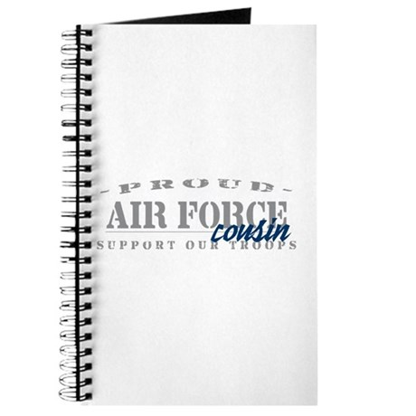 Proud Air Force Cousin (Blue) Journal