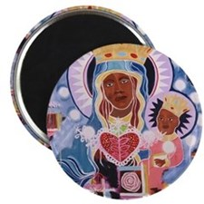 "Unique Haitian 2.25"" Magnet (10 pack)"