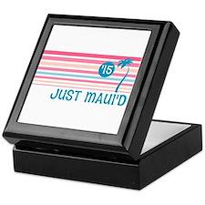 Stripe Just Mauid 15 Keepsake Box