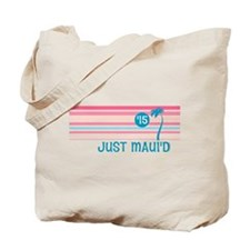Stripe Just Mauid 15 Tote Bag
