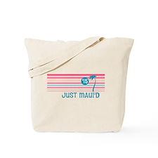Stripe Just Mauid 15 Tote Bag