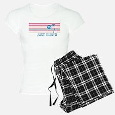 Stripe Just Mauid 15 Pajamas