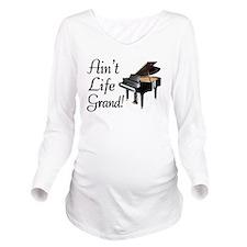 Ain't Life Grand Pia Long Sleeve Maternity T-Shirt
