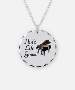 Ain't Life Grand Piano Necklace