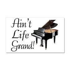 Ain't Life Grand Piano Car Magnet 20 x 12