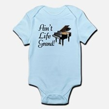 Ain't Life Grand Piano Infant Bodysuit