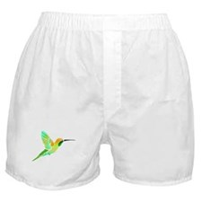 Lemon Lime Sorbet Hummingbird Boxer Shorts