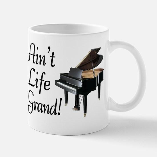 Ain't Life Grand Piano Mug